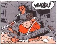Dul in de strip van Siske en Wiske